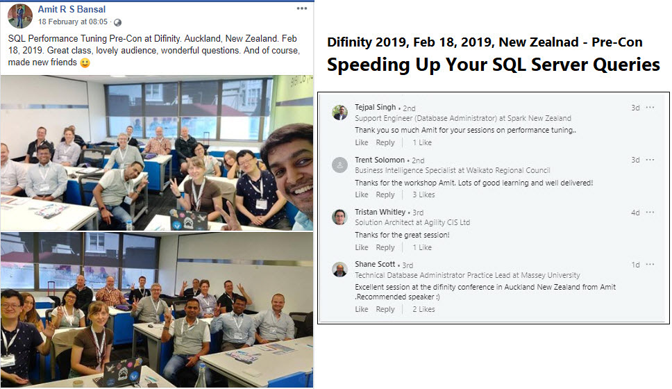 SQL Server Performance Troubleshooting & Tuning - Difinity 2019, New Zealand