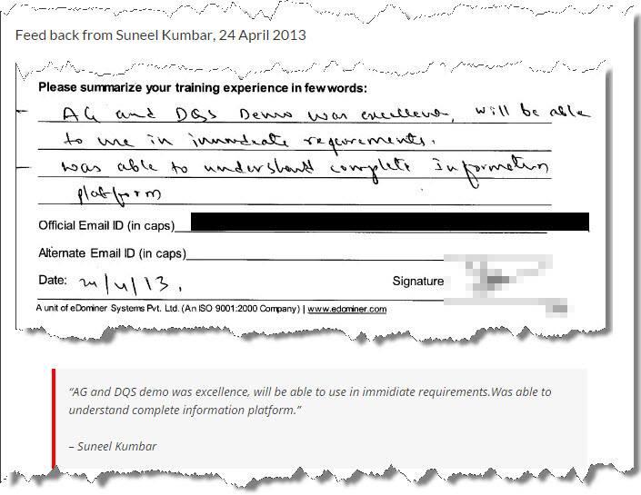 SQL Server Training, SQL Server 2012, Bangalore April 2013