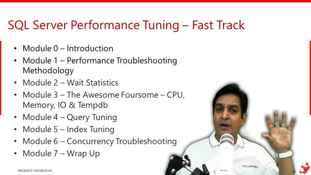 SQL Server Performance Tuning Video Course