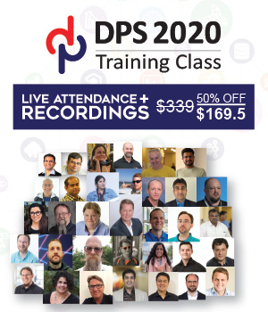 DPS2020 Training Classes