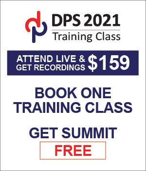 DPS2020 Training Classes